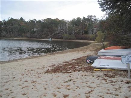 Harwich Cape Cod vacation rental - Private Association Beach on John Joseph Pond
