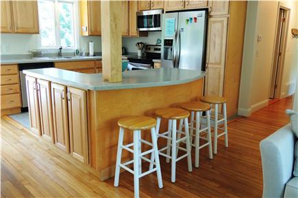 Harwich Cape Cod vacation rental - Kitchen with breakfast bar