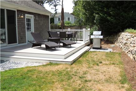 Harwich Cape Cod vacation rental - Large private deck for relaxing, grilling and dining