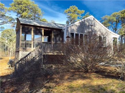 Eastham Cape Cod vacation rental - Side view with sun porch
