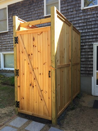Eastham Cape Cod vacation rental - Awesome outdoor shower