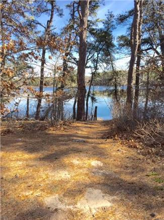 Eastham Cape Cod vacation rental - View of Widow's Harding Pond