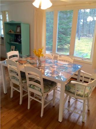 Eastham Cape Cod vacation rental - Bright dining room