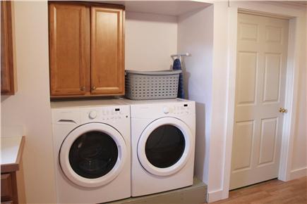 North Truro Cape Cod vacation rental - Washer & dryer in basement