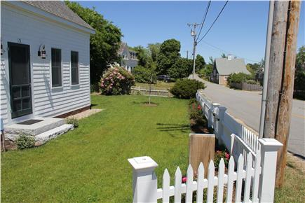 North Truro Cape Cod vacation rental - Front yard area
