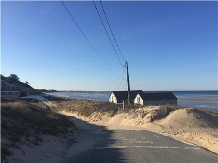 North Truro Cape Cod vacation rental - Beautiful beach road