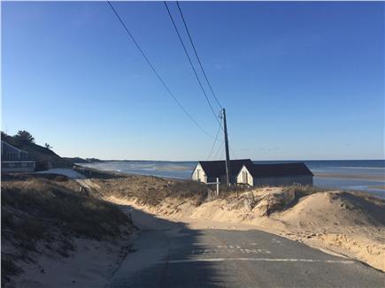 North Truro Cape Cod vacation rental - Beautiful beach road