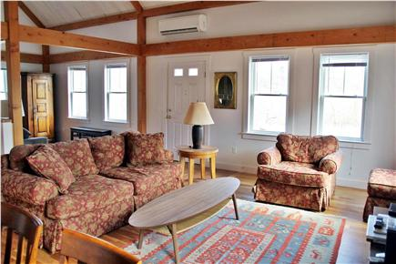 North Truro Cape Cod vacation rental - Main living room area