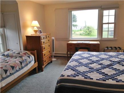 Chatham Cape Cod vacation rental - Upstairs 2nd bedroom fits a whole family with king + two twins