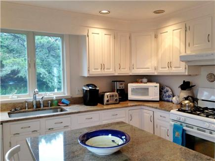 Chatham Cape Cod vacation rental - Remodeled kitchen includes granite counter-tops and center island