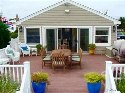 Sandwich Cape Cod vacation rental - Oversized deck with barbecue