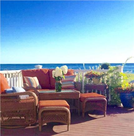 Sandwich Cape Cod vacation rental - Water views from the deck