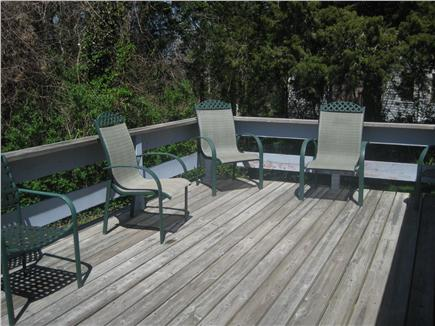 Brewster Cape Cod vacation rental - Large Exterior Deck (Chairs, Table, Gas Grill)