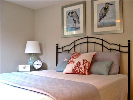 Brewster Cape Cod vacation rental - Queen Bedroom 1 w/ ceiling fan (1st floor)