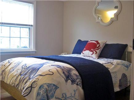Brewster Cape Cod vacation rental - Queen Bedroom 2 w/ ceiling fan (1st floor)