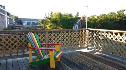 Wellfleet Cape Cod vacation rental - Back Deck - from back door