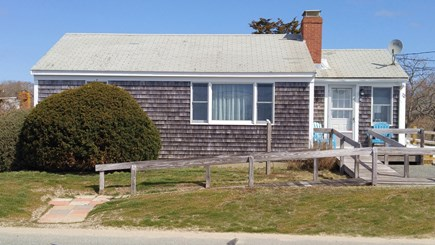Wellfleet Cape Cod vacation rental - Take a hundred steps backwards and your feet are in the sand!