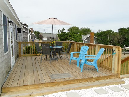 Wellfleet Cape Cod vacation rental - Our favorite place to eat and relax