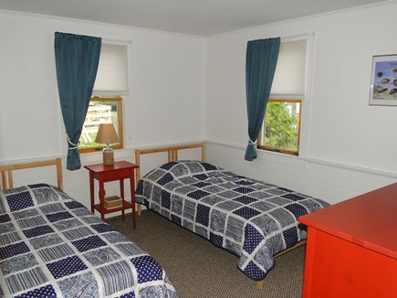 Wellfleet Cape Cod vacation rental - Twin Bedroom, adjacent to bathroom