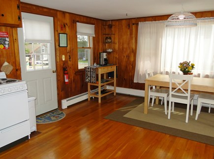 Wellfleet Cape Cod vacation rental - Dining area seats 4 comfortably
