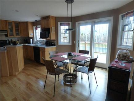East Dennis Cape Cod vacation rental - Dining area next to kitchen