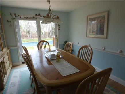 East Dennis Cape Cod vacation rental - Separate dinning room
