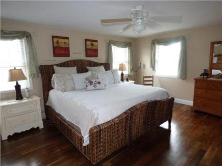 East Dennis Cape Cod vacation rental - Master Bedroom on 2nd floor has  king bed with Full bath