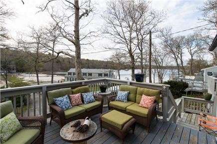 Mashpee Cape Cod vacation rental - Lounge Area with Waterview and seating for 6-8