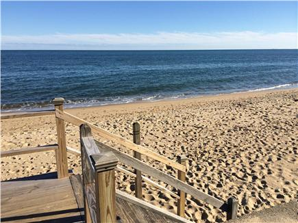 Mashpee, Popponesset Cape Cod vacation rental - Private beach at end of street