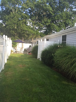 Mashpee, Popponesset Cape Cod vacation rental - Patio and outdoor shower