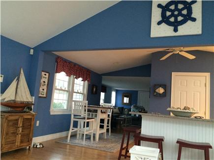 Mashpee, Popponesset Cape Cod vacation rental - Kitchen and living area