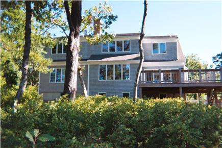 Harwich Cape Cod vacation rental - Back of home facing the pond