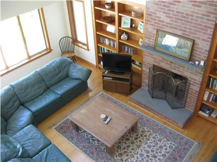Harwich Cape Cod vacation rental - Living room viewed from balcony