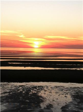 North Eastham Cape Cod vacation rental - Sunset at nearby bay beaches
