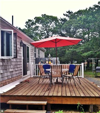 North Eastham Cape Cod vacation rental - Deck and outside shower