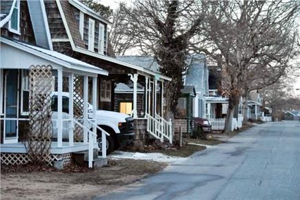 Harwich Port Cape Cod vacation rental - Cottage lined street  of Ocean Ave.
