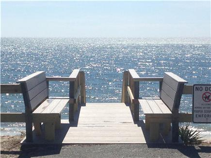Harwich Port Cape Cod vacation rental - Public beach right down from cottage - 100 steps!
