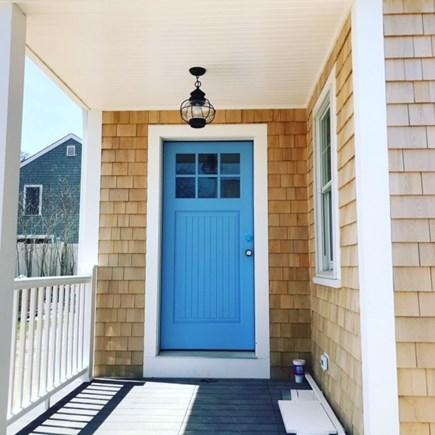 Harwich Port Cape Cod vacation rental - Front door - summer blue