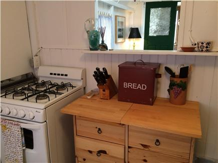 Harwich Port Cape Cod vacation rental - Kitchen into living room