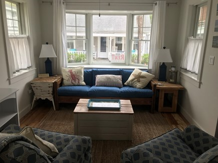 Harwich Port Cape Cod vacation rental - Living room area.  The first floor is open concept.