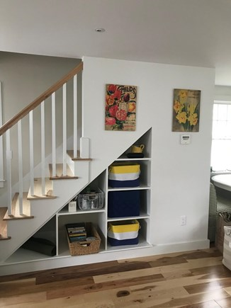 Harwich Port Cape Cod vacation rental - Storage space