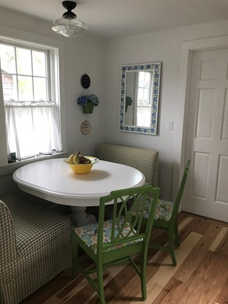 Harwich Port Cape Cod vacation rental - Kitchen nook