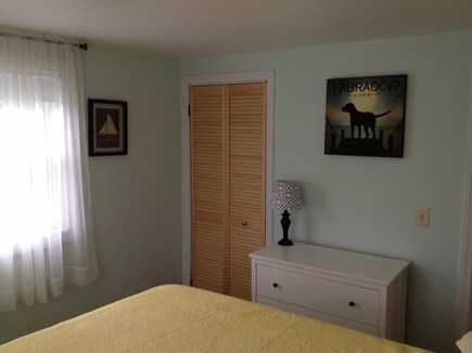 West Yarmouth - Seagull Beach Cape Cod vacation rental - Master bedroom: one queen