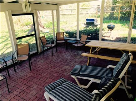 Orleans Cape Cod vacation rental - Screened in porch