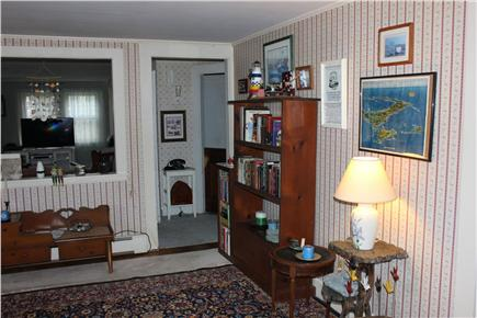 Eastham Cape Cod vacation rental - Sitting room view toward living room