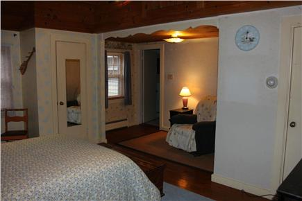 Eastham Cape Cod vacation rental - Sitting area of 16x17 Master bedroom