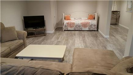 South Harwich Cape Cod vacation rental - Newly finished basement for relaxing after a day at the beach!