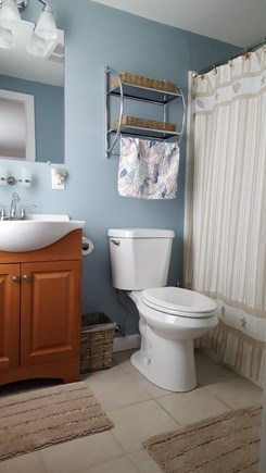 South Harwich Cape Cod vacation rental - Newly remodeled master bathroom