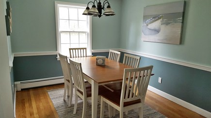 South Harwich Cape Cod vacation rental - Freshly painted dining room adjacent to kitchen