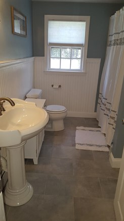 South Harwich Cape Cod vacation rental - Newly remodeled main bathroom